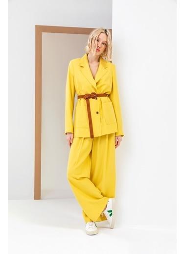 Berr-in Pantolon Sarı
